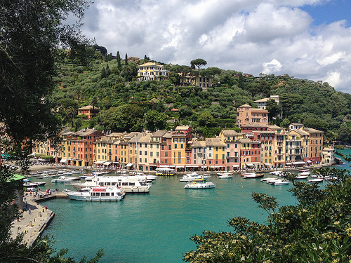 Italy Travel Photo Beautiful Portofino Italy Travel