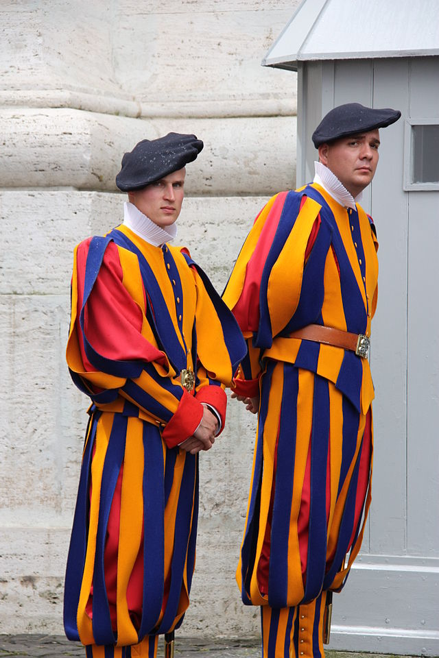 The Italy Mix Swiss Guards Cookbook How The Duomo Was
