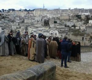 Cinema: nei Sassi di Matera cominciano le riprese del remake del film Ben Hur