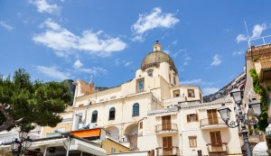 Church Of Santa Maria Assunta in Positano Amalfi coast Italy